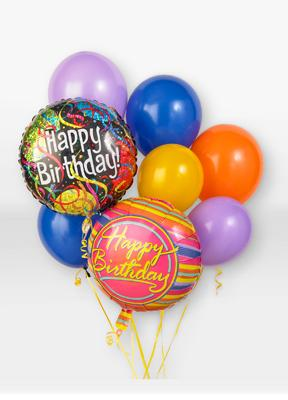 Flowers For You Birthday Balloon Bouquet Mount Vernon OH 43050 FTD Florist Flower And Gift Delivery